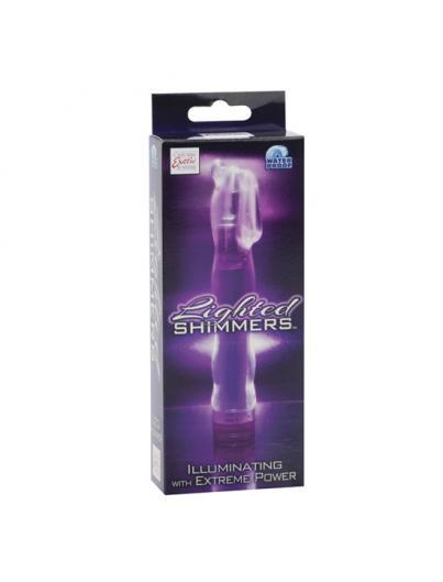 LIGHTED SHIMMERS VIBRADOR LED BLISS LUMINOSO LILA - Imagen 1